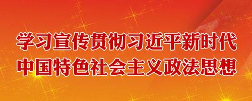 学习宣传贯彻习近平新时代中国特色社会主义政法思想