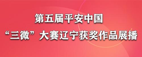 """第五届平安中国""""三微""""大赛辽宁获奖作品展播"""